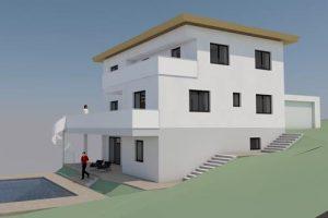 Bauprojekte Bauplanung Visualisierung Kriechhammer Bau