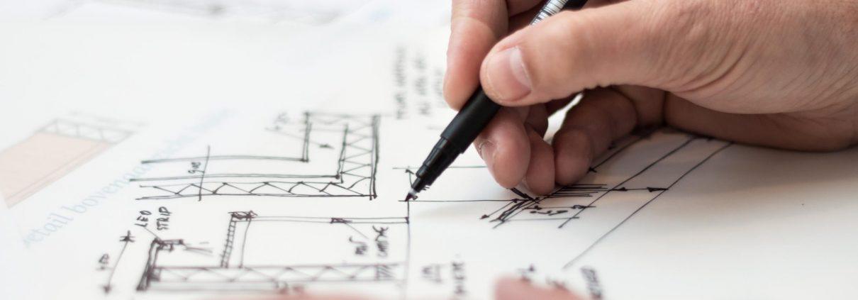 Einreichplan Entwurf Bauzeichner Kriechhammer Bau